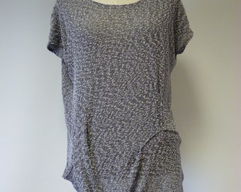 Special price. Silver grey boucle blouse, M/L size.