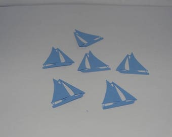 Sailboat to decorative table confetti