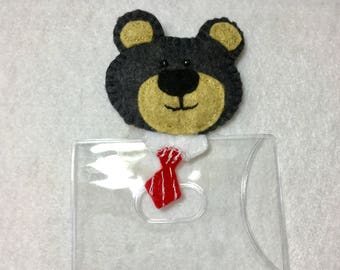 Bear ID/Badge Holder
