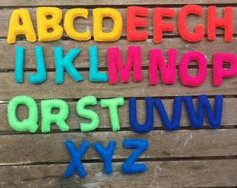 ABC FELT ALPHABET, letters.