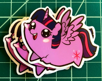 Pony Chubs! Twilight Sparkle Sticker