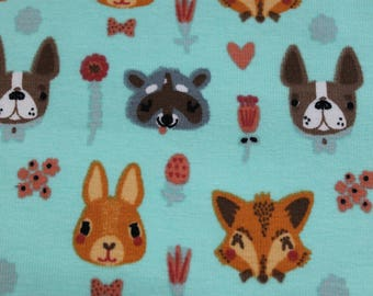 Jersey, animals, Fox, Bunny
