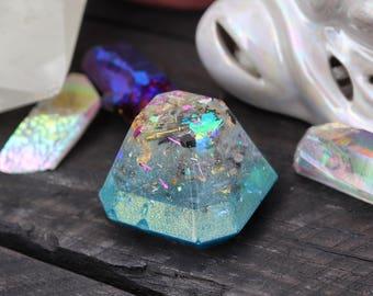 Orgonite® - Gemstone - Positive Energy - Handmade - Orgone Generator® - Crystals - Gift - Quartz - HoodXHippie - Good Vibes