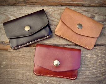 Horizontal Cards and Coins Wallet
