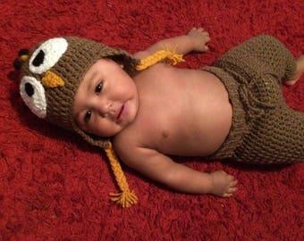 Crochet Turkey Outfit
