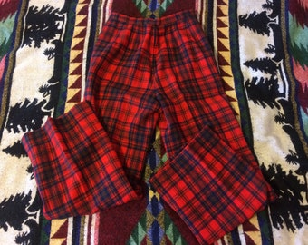70s/80s Ladies Pendleton High Waisted Wool Pants Size 8