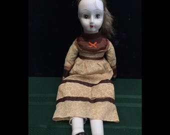 Vintage Walda Porcelain Doll