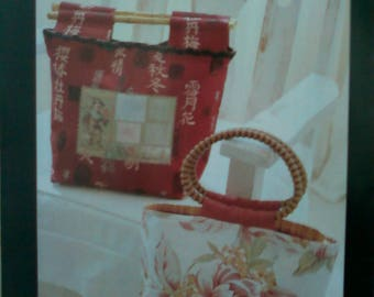 """Indygo Junction Sewing Pattern """"The Naomi"""" Handbag in Two Styles"""