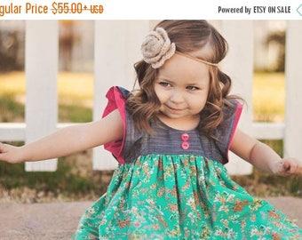 SALE Spring Girls Dress | Ruffle Dress | Easter Dress | Toddler Dress | Toddler Spring | Baby Easter Dress | Baby Ruffle Dress | Girls  Dres