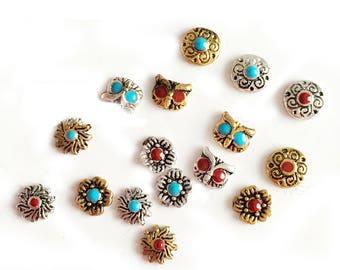 Bohemian Boho  kallaite Vintage Retro nail charms, Nail jewels, Nail jewelry, Nail decoration, Nail art, Nail designs, Nail art designs