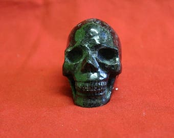 Astrophyllite Skull,Schädel,Visions,Insights,Connection with star beings,RARE ONE,5.5cm,2inch