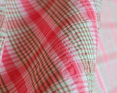 Vintage pink and green pl...