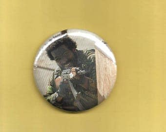 "The Walking Dead 2 1/4"" Button Shumpert Woodbury Soldier"