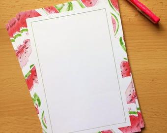 Watermelon Madness-Stationery-WritingSet-Note Paper