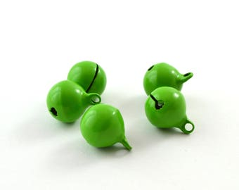 5 bells green color 14 mm