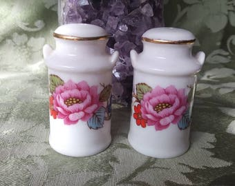 Small vintage salt and pepper shakers