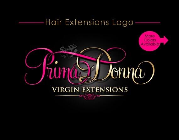 Hair Extensions Logo, Hair Logo, Virgin Hair Logo, Hair Tag Logo, Hair Bundle Logo, Hair Wrap Logo, Hair Bag, Logo for Hair, Logo, Branding
