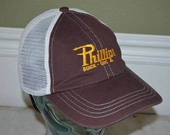 Retro Phillips Buick & GMC Adjustable Baseball Cap Hat (One Size Fits All)