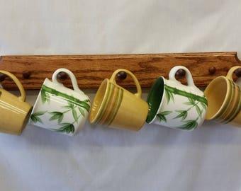Easy Mount Coffee Mug Rack