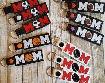 Sports Mom Key Chain