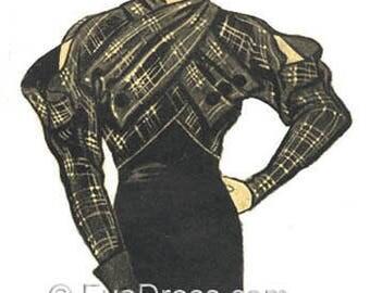 1933 Katharine Hepburn Jacket E-Pattern Set A by EvaDress