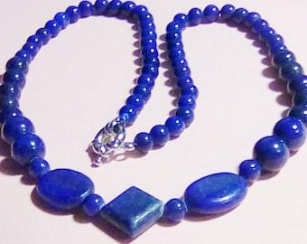 Lapis Luzuli Blue Necklace