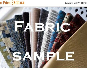 SALE Fabric Sample - Try before you buy!