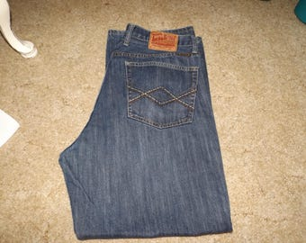 Lucky Brand, Blue Jeans, Boys Jeans, Mens Jeans, Gift For Him, Vintage Clothing, Jeans, lucky brand Jeans, Used Jeans, Size 36 Jeans,