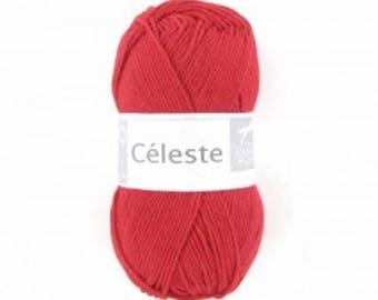 Pincushion CELESTE 04 cotton and silk
