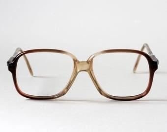 Vintage acetate frame without glass, France 1960, 58-18 j LEMPEREUR glasses, optical eye eye eye make-up artist