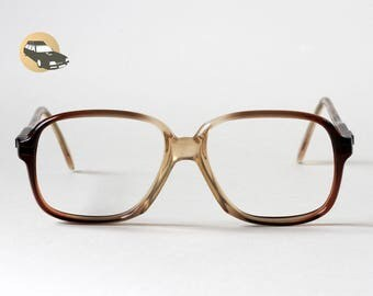 J LEMPEREUR Vintage man 58-18 France 1960 bare frame acetate sunglasses optical eyes look stylist mid century look