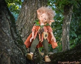 Art doll Gift For Dad Gift For Him goblin doll handmade dolls male doll home decor porcelain doll porcelain dolls LIMITED EDITION