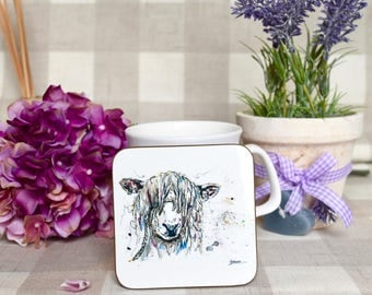 Cotswold sheep  coaster