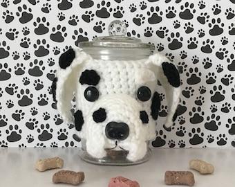 Dog Mama, Crazy Dog Lady, Gift for Dog Walker, Dalmatian Party, Dalmatian, Dog Trainer, Dog Walker, Live Love Bark, Doggy Mom, Dog Treat Jar