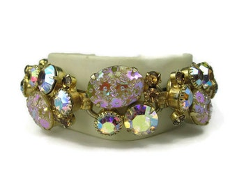 Juliana Pressed Glass Bracelet
