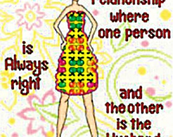 "Words of Wisdom Counted Cross Stitch Kit  #2835M (8 1/2"" x 10"")"