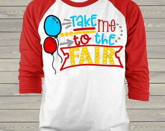 Take me to the fair svg | fair svg | county fair svg | balloons svg | fair doodle svg | county fair design svg | county fair party