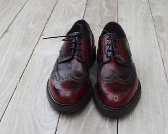 Men's shoes real leather, English model, hand made, made in Italy