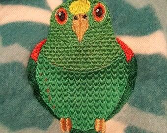 Digitized Amazon Parrot Machine Embroidery Design