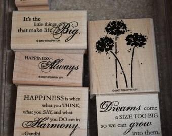Stampin' Up! Happy Harmony Retired Stamp Set