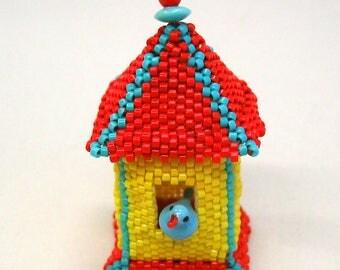 Bird House Pendant