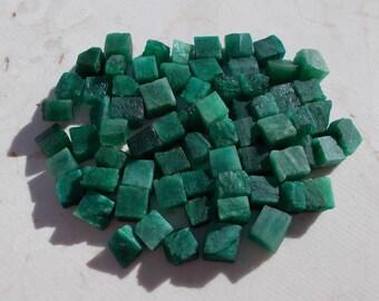 Raw emerald, rough emerald, may birthstone, emerald green, rocks, minerals, gems, pagan, shaman, stones, crystal emerald cubes, raw crystals