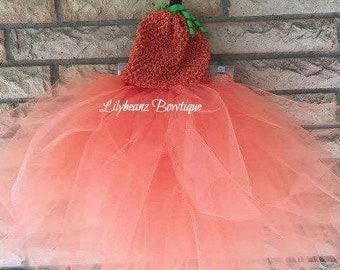 Pumpkin Tutu, Kids Tutu, Toddler Tutus, Halloween Costume, Kids Costumes, Kids Gift, Toddler Gift, Girls Costumes, Girls Tutu, Toddler Skirt