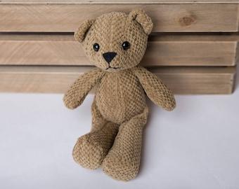 Mini Teddy Bear Newborn prop. Newborn Prop, photography prop, Miniature animal toy
