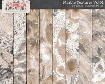 Unique Marble Print, Handmade, Modern Marble Print, Commercial Use OK Marbled Paper, Digital Backdrop, Digital Paper Pack Instant Download,