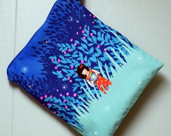 Summer Nights Fireflies Wet Bag~ Swim, Baby, Travel~ Dry/Wash Bag