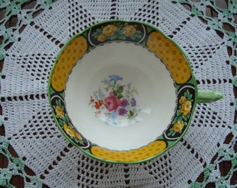 Very Rare True Royal Paragon -  Fine Bone China England - Vintage Tea Cup Only - (A Mismatched but Suitable Saucer is Included)