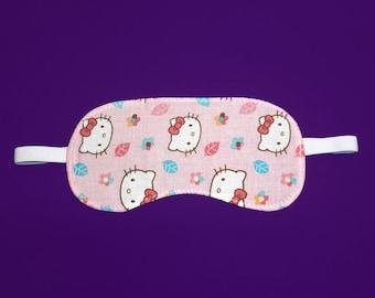 Hello Kitty Print Sleep Eye Mask