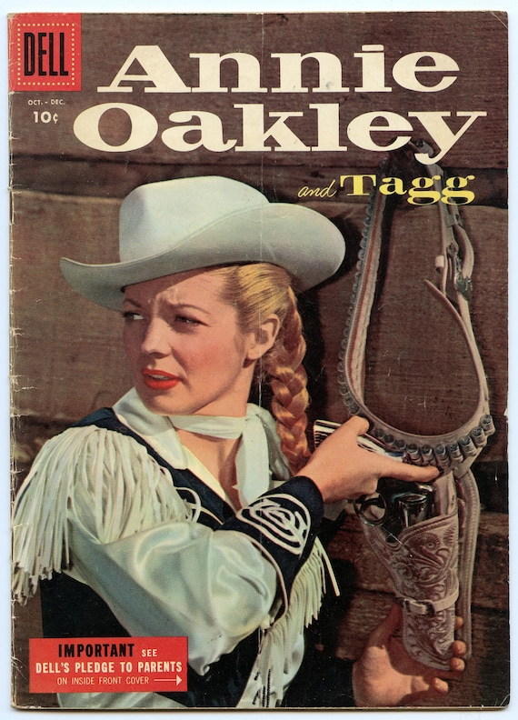 Annie Oakley and Tagg 5 Dec 1955 VG (4.0)