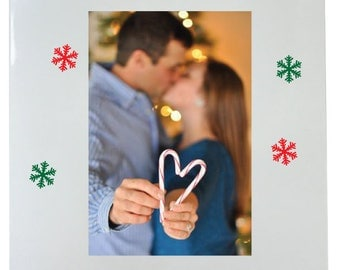 Couple's First Christmas Picture Frame